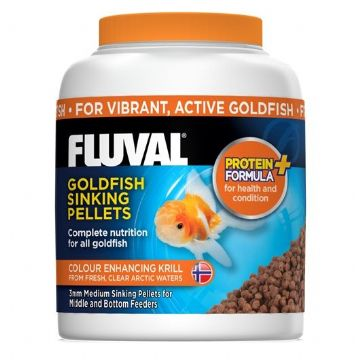Fluval Goldfish Sinking Pellets 3mm